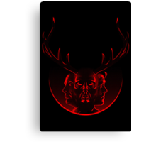 Blood Brothers - Hannibal & Will Graham Canvas Print