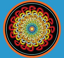Infinite Path Martial Arts Mandala 3 by Robyn Scafone
