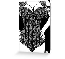 Corset Project 2 Greeting Card
