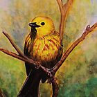 Little Yellow Bird by JoAnn Glennie