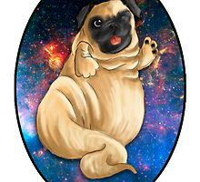 Jabba the Pug by Hewiie