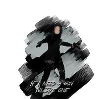 If I Need A Gun I'll Take One || Melinda May by mandymallette
