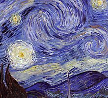 Vincent Van Gogh Starry Night by Fine Art Gallery