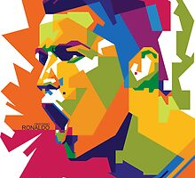 World Cup Edition - Cristiano Ronaldi in WPAP by hwart
