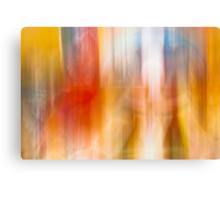 Blur colors Canvas Print