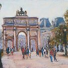 Arc de Carrousel, Paris by Terri Maddock