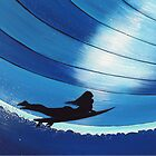 Dive In Bleu - Glide Girl Series by ReoSurf