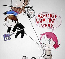 """Remember Who We Were"" Paramore by ArtByJamie"