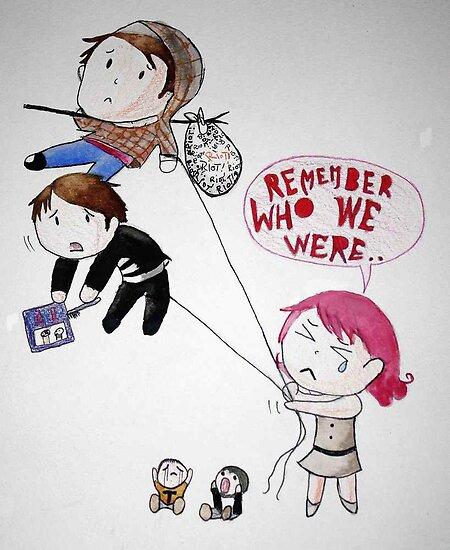 """Remember Who We Were"" Paramore by ArtByJamie"