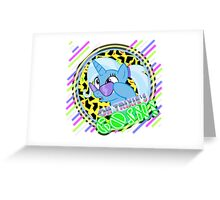 Oh Trixie's Gosh! Greeting Card