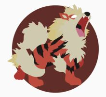 Arcanine - Basic by Missajrolls