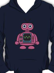 Pink Robot T-Shirt
