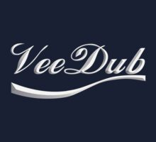 VeeDub - white print Kids Clothes