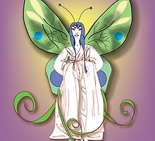 Madame Butterfly 4 (2007) by Robyn Scafone