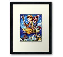 DC2 Framed Print