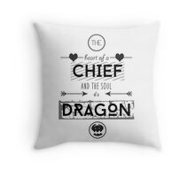 "How To Train Your Dragon 2 ""Heart of a Chief"" Throw Pillow"