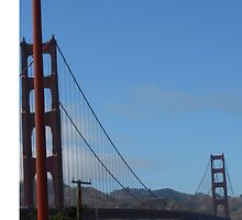 Golden Gate Bridge  by TheLilMerm