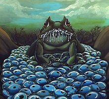 Wretched Toad- The Nest by Kat the Coffee Lion