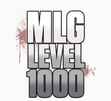 MLG Level 1000 shirt by RainbowMeteors