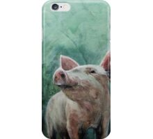 Mighty Fine Pig iPhone Case/Skin