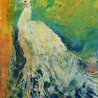 White Peacock by Michael Creese