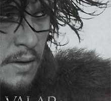 Jon Snow Valar Morghulis Game of Thrones by MarioGirl64