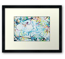 Fibroblasts  - Watercolor Painting Framed Print