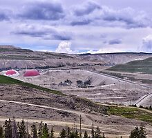 Teck Highland Valley Copper Mine by Leanne Stewart