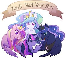 You'll Play Your Part - Princess Quartet by jackrahbit