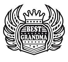 Queen Crown best best Grandma by Style-O-Mat
