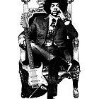 Jimi Hendrix by edwin rivera