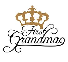 First Grandma Queen Crown Design by Style-O-Mat