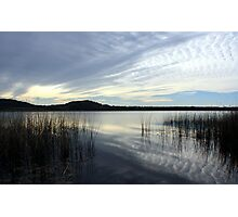 wintertime at cudgen lake...  Photographic Print