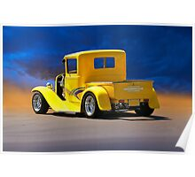 1930 Ford Model A Pick-Up 2 Poster