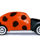 Lady beetle by John Medbury (LAZY J Studios)