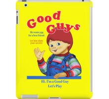 Good Guys iPad Case/Skin