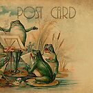 Post Card - Frog-Musicians by © Kira Bodensted