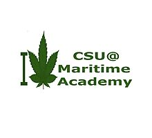 I Love California State University at Maritime Acadmey by Ganjastan