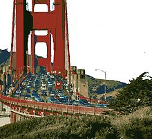 Golden Gate Bridge edit by boogeyman