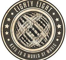 Eighty Eight Keys by perkinsdesigns