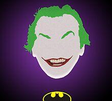 Batman (1989) - Joker minimalist poster by Hellmoo