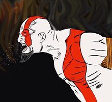 Kratos by stewartwarner