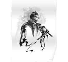Samurai Bushido Code Japanese Warrior Poster