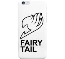Fairy Tail Anime Guild Mark Logo Render Design iPhone Case/Skin