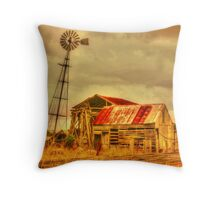 Country Gold Throw Pillow