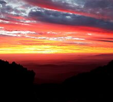 Days end  -  the top of Mnt Baw Baw - Vic Oz by john  Lenagan