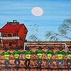 """World Cup Outback Aussie Style""  Funky Original Sold by EJCairns"