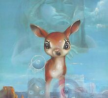 The Spirit of a Deer by Rich Ladig