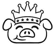 Piglet Crown face by Style-O-Mat