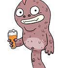 IPA Beer Monster by striffle